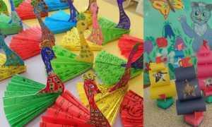 Конструирование из бумаги в детском саду