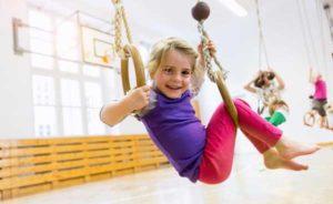 Занятие ребенка спортом