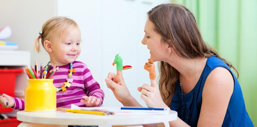 Заниматься с детьми лучше в игровой форме