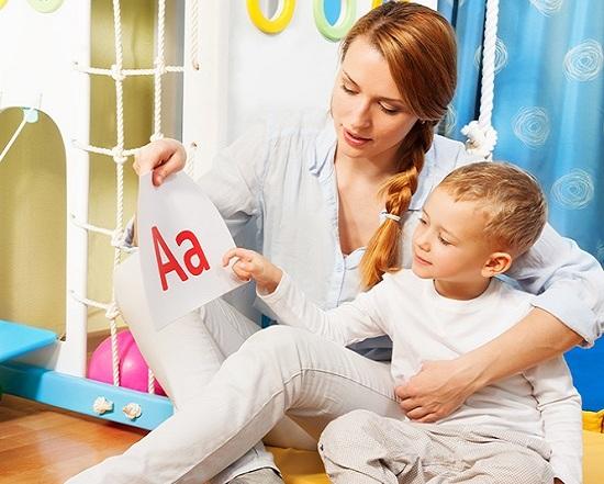 Алфавит легче запомниться, если заниматься с хорошим настроением