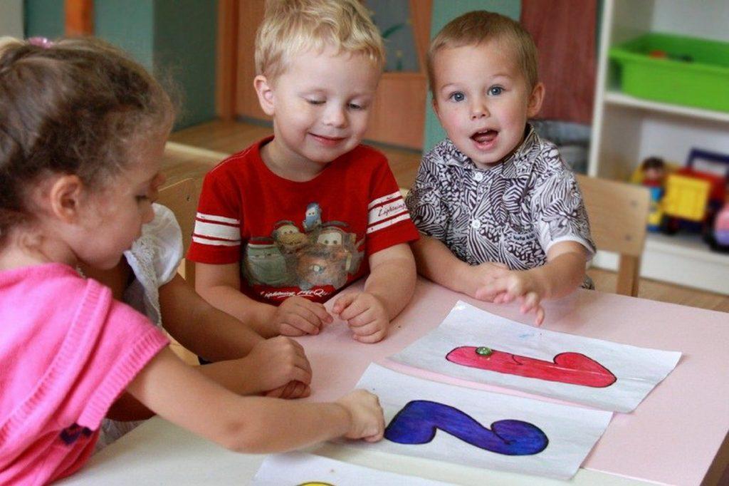 Дети учатся, играя