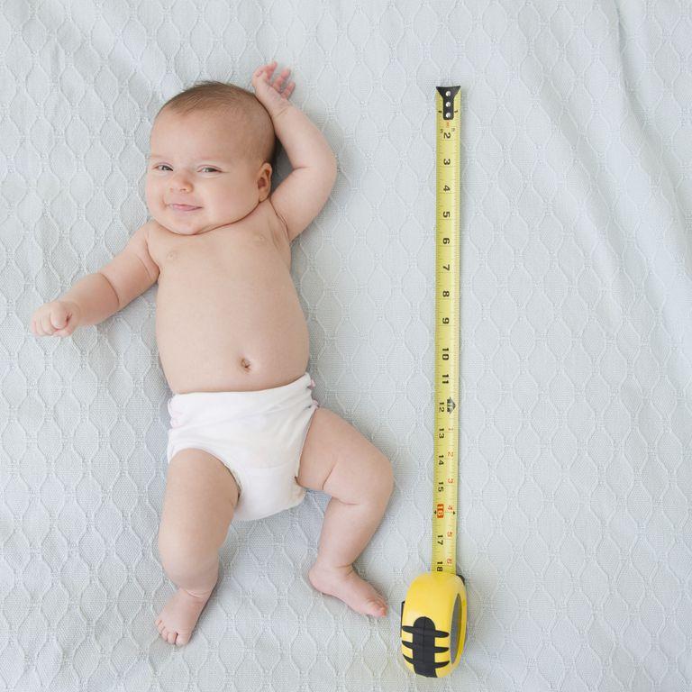 Измерение роста ребенка
