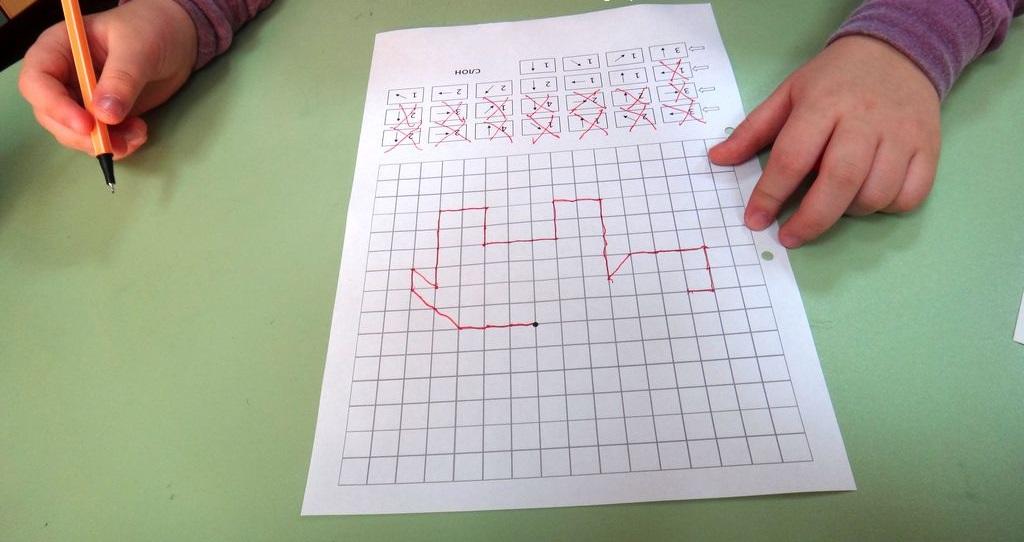 Детские графические диктанты